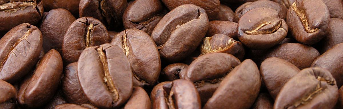 Masser af kaffebønner